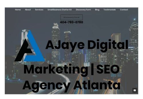 AJaye Digital Marketing | SEO Agency Atlanta