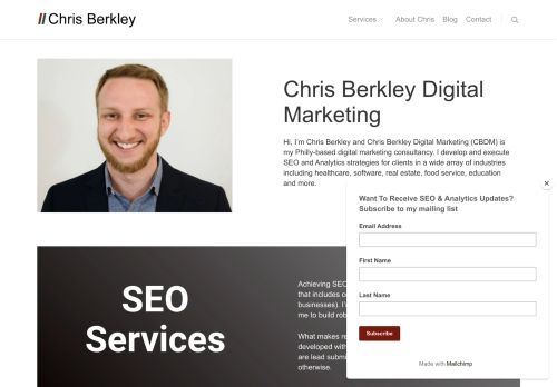 Chris Berkley Digital Marketing LLC