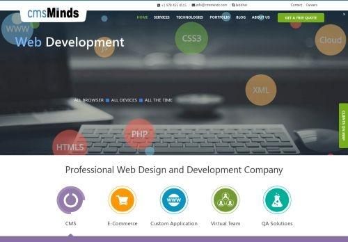 Cmsminds Web Design Development Company Nc In Durham Reviews