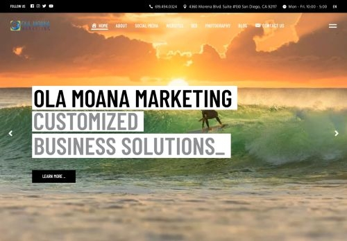 Ola Moana Marketing | Social Media | Website Design | SEO