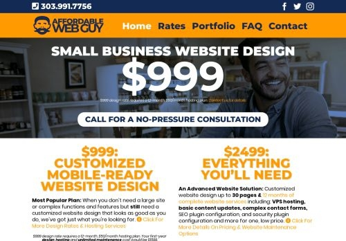 The Affordable Web Guy LLC
